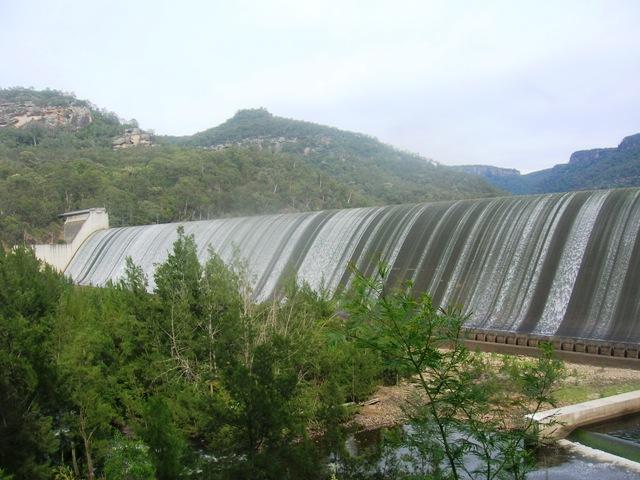 Dam wall