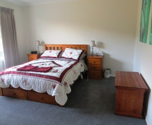 The bedrooms are all spacious and very comfortable - electric blankets on the beds
