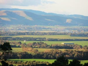 There are also splendid country views