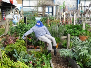 Another example of Veg Out garden whimsy