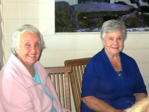 And now we get to meet Anne and Marcia, both of whom live well over an hour's drive away